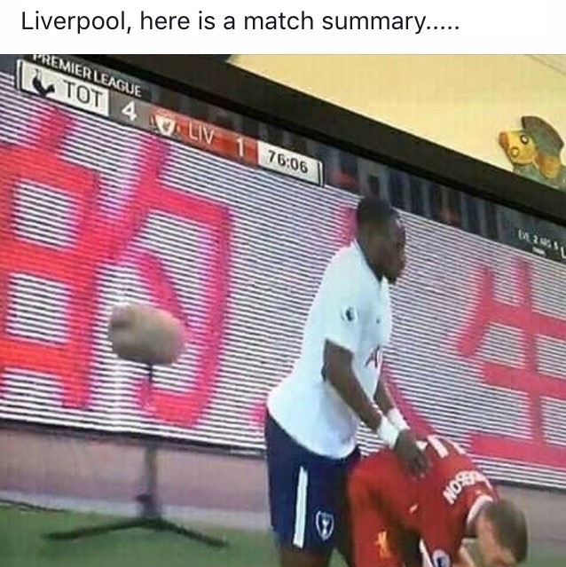 Funny Spurs 4 Liverpool 1 (2)